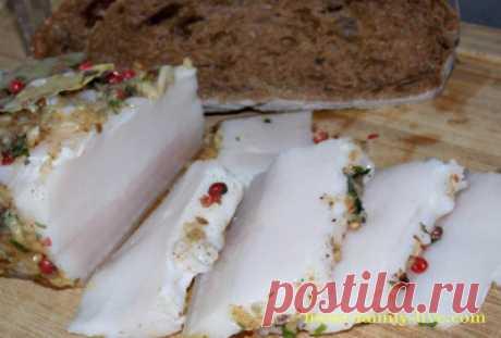 Сало в рассоле/Сайт с пошаговыми рецептами с фото для тех кто любит готовить