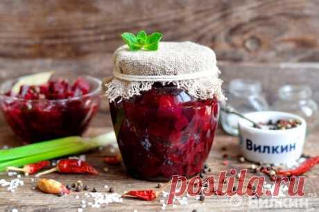 Маринованная свекла на зиму - рецепт с фото пошагово