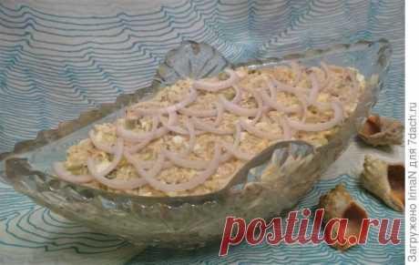 Рыбный салат у всех нарасхват