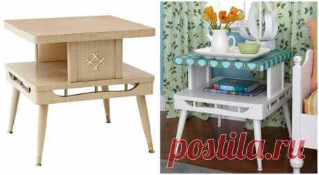 15 крутых идей по переделке старой мебели   Болтай