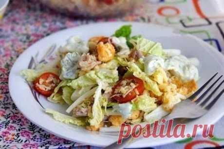 Любимый салат а-ля «Цезарь» — проще, дешевле и вкусно, как всегда!