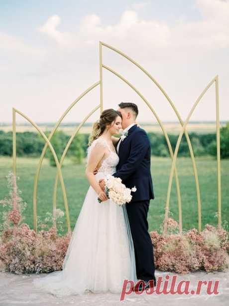 🌸 Самый светлый день: нежная и романтичная свадьба 🌸