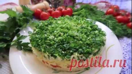 #Очень #вкусный #салат #с #красной #рыбой! Быстро исчезает со стола!