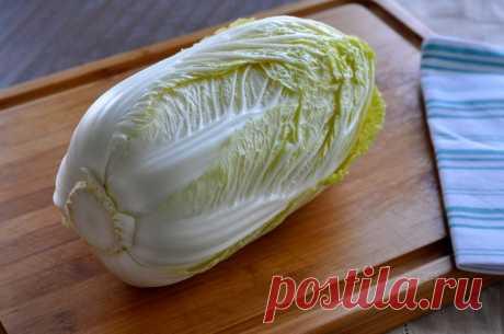 Блюда из пекинской капусты: идеи и рецепты :: SYL.ru