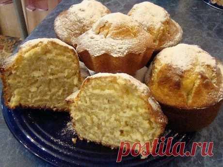 Как приготовить кексы на кефире - рецепт, ингредиенты и фотографии
