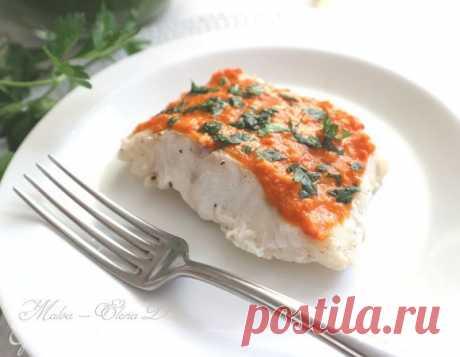 Как приготовить Треска с соусом ромеско Пошаговый рецепт с ингредиентами и фото