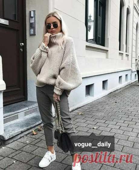 Пуловер оверсайз с подборкой схем. #октябрь#вязание