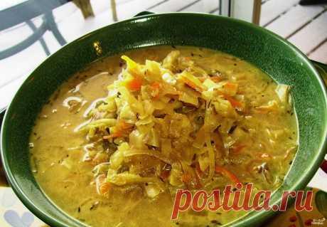 Щи постные с грибами - кулинарный рецепт с фото на Повар.ру