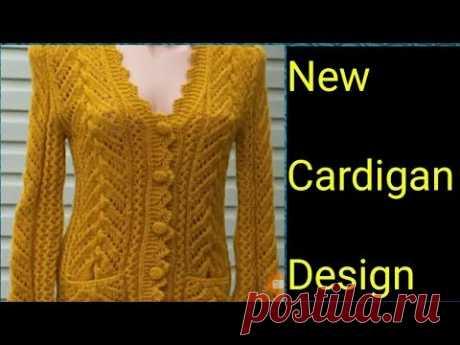 new knitting design  cardigan jacket shrug by creativity lovers