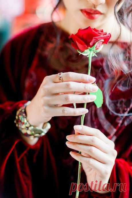 Цветы должны быть без повода. Счастье должно быть настоящим. Дом - тёплым. Любовь должна быть взаимной. Погода... а без разницы какая погода!