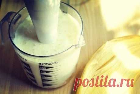 Банановый смузи с овсянкой - ИДЕАЛЬНЫЙ завтрак! — Мегаздоров