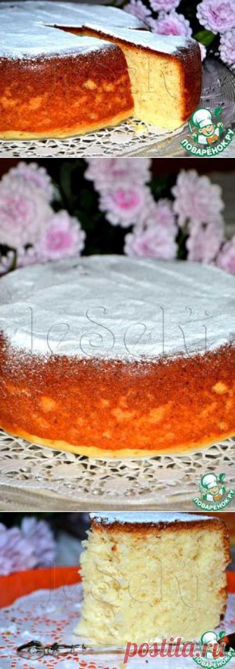 Творожный кекс в мультиварке - кулинарный рецепт