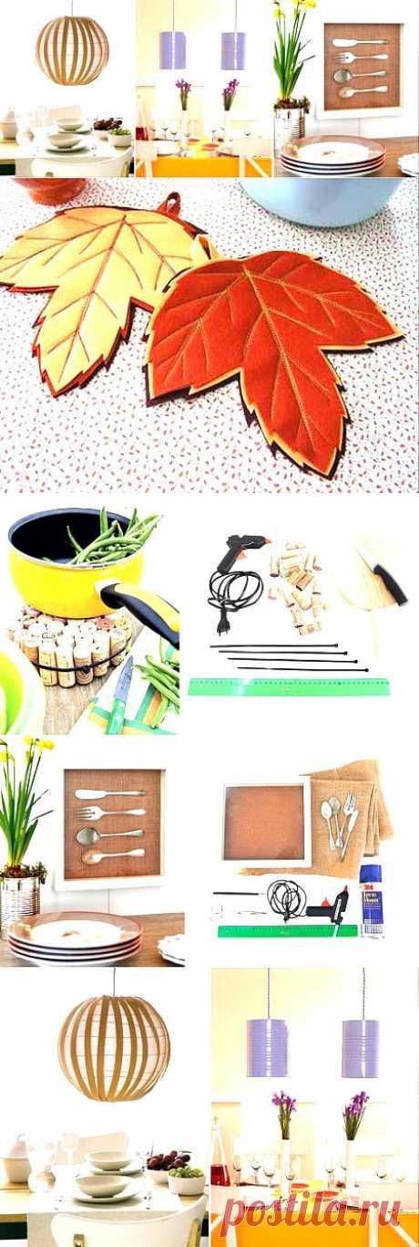 Мелочь, а приятно: занятные идеи для декора кухни своими руками | ВСЁ ДЛЯ ДОМА