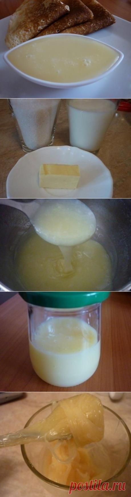 Как приготовить вкусная домашняя сгущенка за 15 минут - рецепт, ингридиенты и фотографии