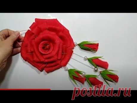🔴ПОДАРОК ДЛЯ МАМЫ своими руками.необыкновенные розы ко Дню матери и 8 марта.поделки цветы из бумаги