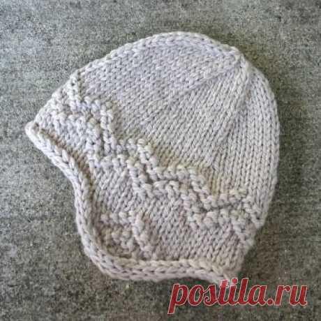 Вязаные скандинавские шапки с «ушами» — Делаем Руками