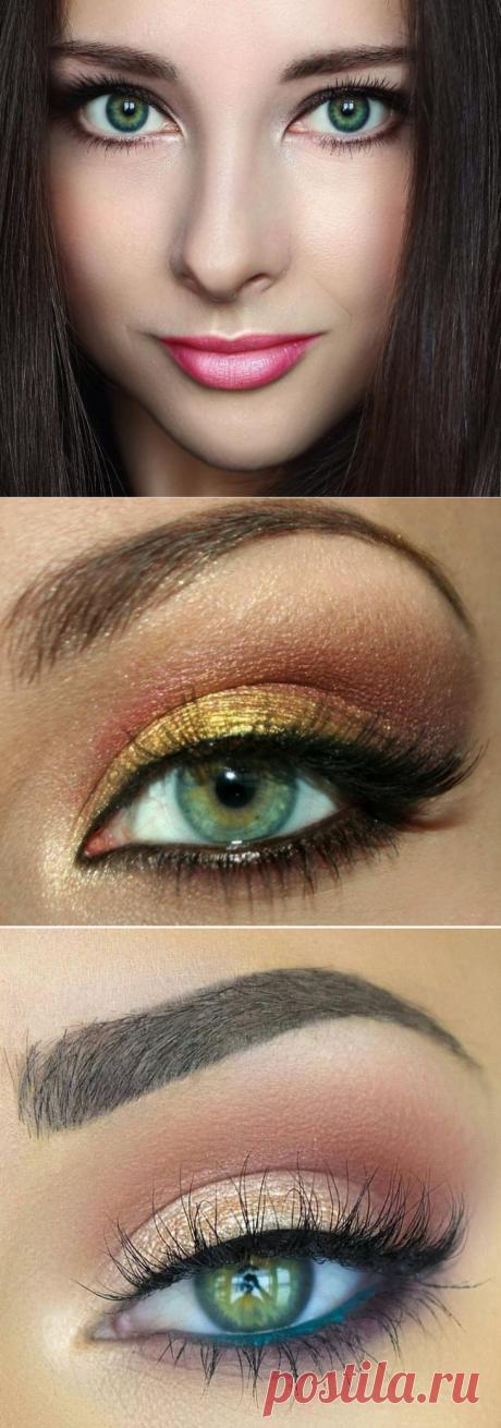 Поиск на Постиле: макияж для зелёных глаз