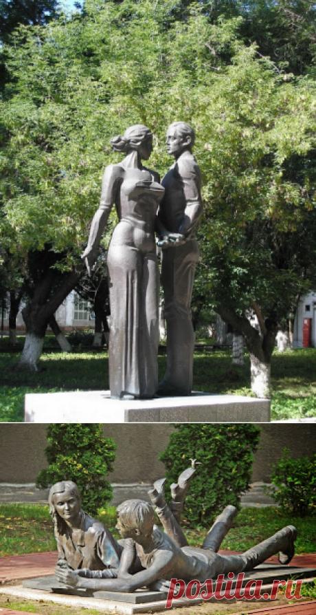 : Скульптурные композиции. Памятники