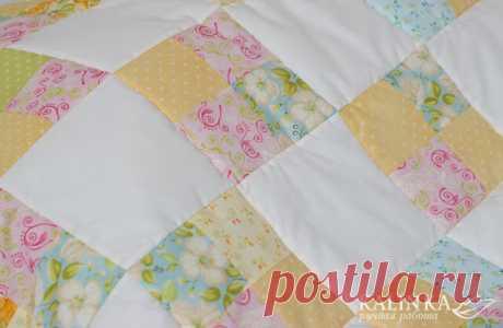 Как я сшила детское одеяло за 2 дня | Я люблю пэчворк | Яндекс Дзен