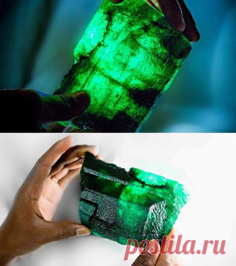 На руднике в Замбии нашли изумруд размером с ладонь - Mail Новости