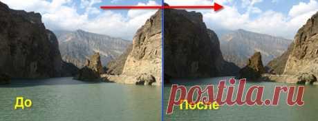 PhotoshopSunduchok - Коррекция 17 - увеличиваем контрастность и детали фотографии с помощью каналов