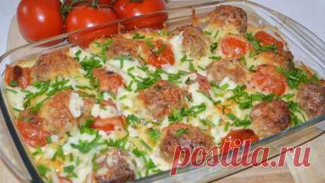 Запеканка с фрикадельками - Великий повар - пошаговые фоторецепты