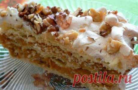 Торт «А-ля по-киевски» — недорогой, вкусный, несложный в приготовлении и просто любимый! Вкусный! Очень вкусный! Просто великолепный рецепт!