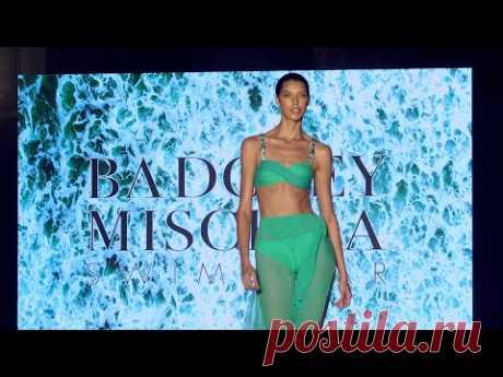 BADGLEY MISCHKA 4K / 2020 Swimwear Fashion Show / Miami Swim Week 2019