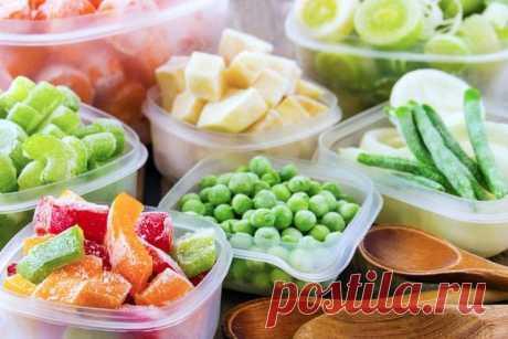 Какие продукты лучше всего переживут заморозку
