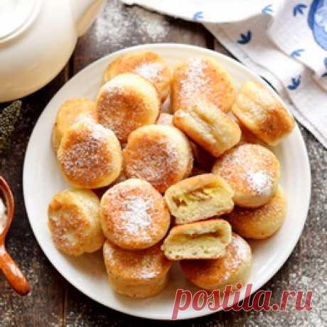 Пирожки-«Минутки» с бананом – обалденные, делаются необычным быстрым способом - Пошаговый рецепт с фото |  Выпечка Вкусные и быстрые мини-пирожки из творожного теста. Удобно готовить на завтрак, т.к. получается всё довольно быстро, лепить каждый пирожок не придется