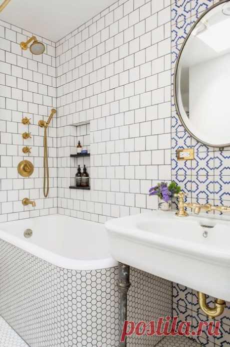 10 больших идей для маленькой ванной, которые удивят и вдохновят | Мой дом