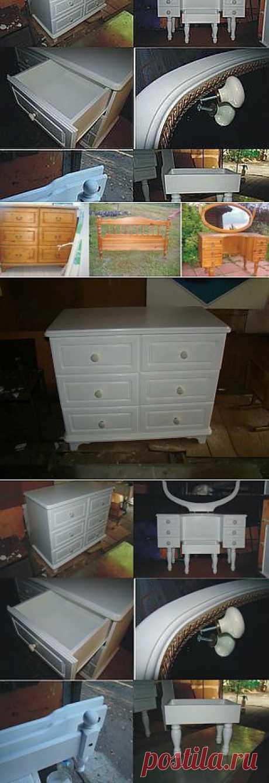 Перекраска спального гарнитура в белый цвет. - Ярмарка Мастеров - ручная работа, handmade