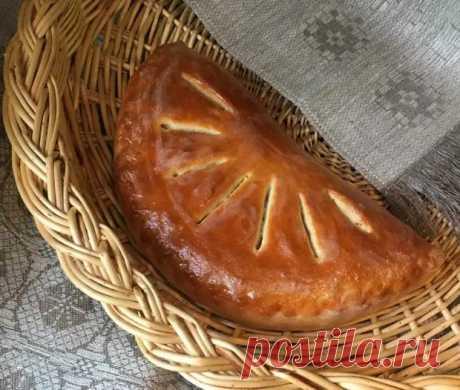 Пирог со скумбрией и солёным огурцом - Ваши любимые рецепты - медиаплатформа МирТесен