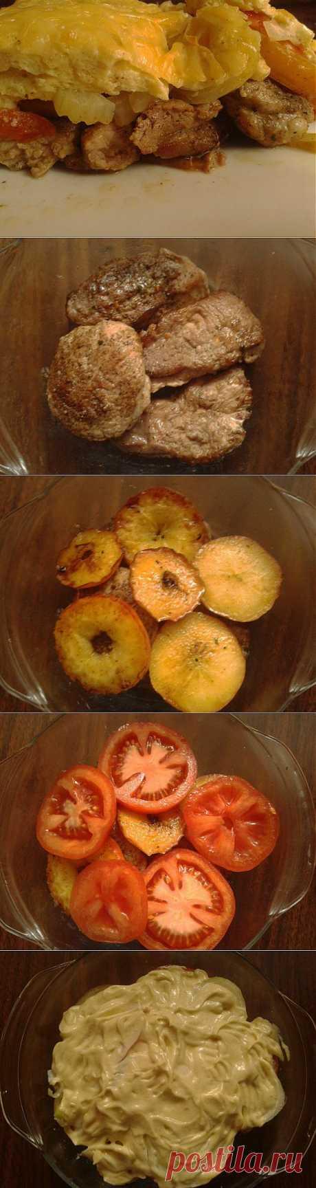 Вкуснейшая свинина с яблоками в духовке-пошагово,просто и вкусно!!! | Любимые рецепты