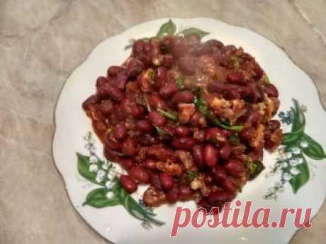 Вкуснейшая закуска. Привезла этот рецепт из Грузии - Кулинарный блог Путешествуя по Грузии, я попробовала национальное блюдо этой солнечной и гостеприимной страны. Сначала думала, что блюдо будет сухим и не очень сытным, так как фасоль готовлю довольно редко,...