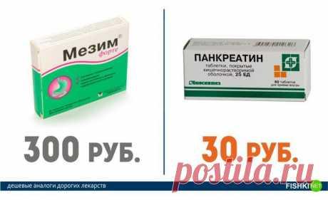 Дешевые аналоги дорогих лекарств | Делимся советами