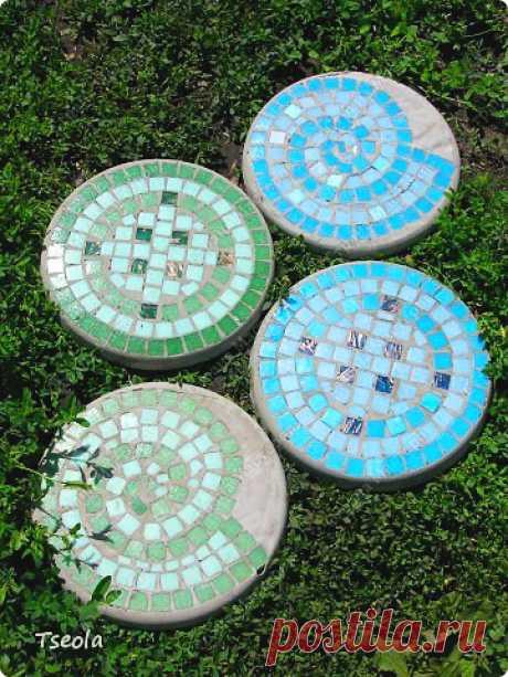 Садовая плитка своими руками — Сделай сам, идеи для творчества - DIY Ideas