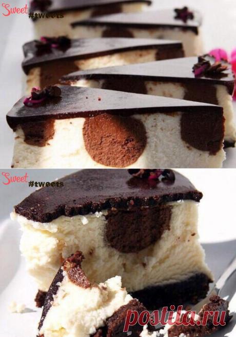Чизкейк с шоколадными шариками | Sweet Twittes