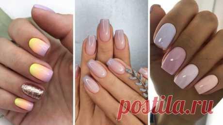 Модный Маникюр 2021. Омбре на ногтях. Красивые ногти. Идеи для маникюра. – ВСЕ ПРОСТО