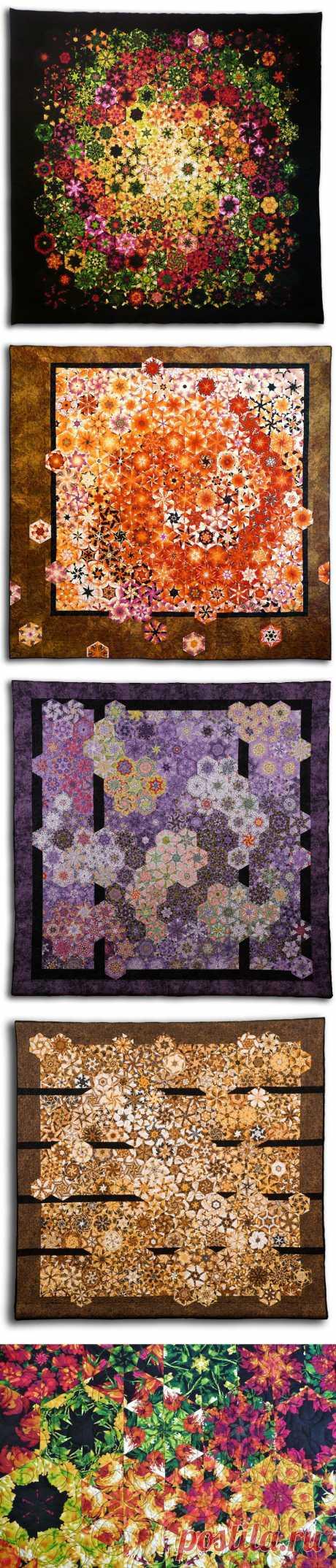 Потрясающие мозаичные калейдоскопы Брюса Сидса