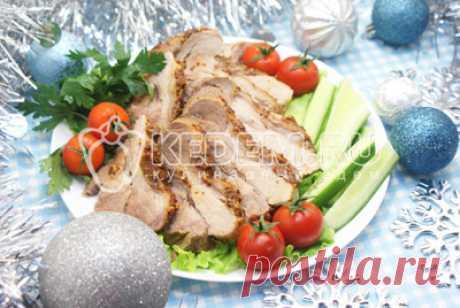 Запеченное мясо в фольге на Новый год – Пошаговый рецепт с фото. Новогодние рецепты 2020. Вкусные рецепты с фото