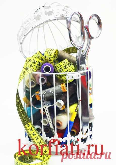Как выбрать швейные нитки: советы А.Корфиати