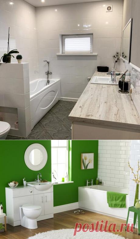 Бюджетный ремонт ванной комнаты. Идеи и личный опыт. | Блоги о даче, рецептах, рыбалке #Интерьер, #Ремонт, #ПолезныеСоветы, #Дизайн   Привет! Сегодня хочу рассказать о бюджетном ремонте нашего санузла.  Ванная и туалет в нашем доме объединены, площадь помещения 9 кв.м. После квартирных 2-5 — это, конечно много. Есть, где разгуляться фантазии, но и на отделку стен стандартной коллекционной плиткой пришлось бы сильно потратиться. Плюс, мне категорически не хотелось иметь обычный санузел...