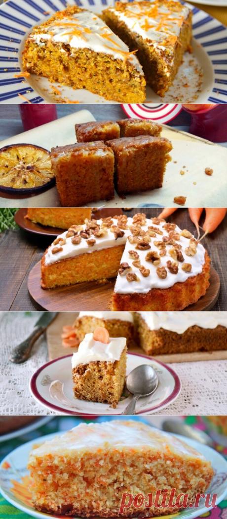 Морковный пирог — бесподобное лакомство для диеты и не только! | В темпі життя