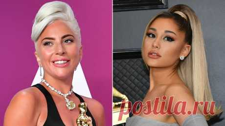 "Ариана Гранде и Леди Гага выпустили сингл ""Rain on Me"""