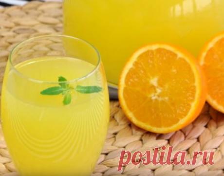 Три литра лимонада из 1 апельсина и 1 лимона: насыщенный вкус и цвет, рецепт искала давно | Коплю на море | Яндекс Дзен