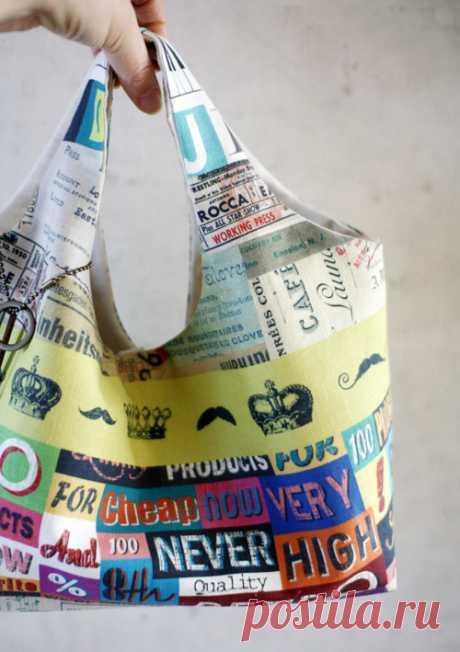 Ткань сумка Хобо DIY ~