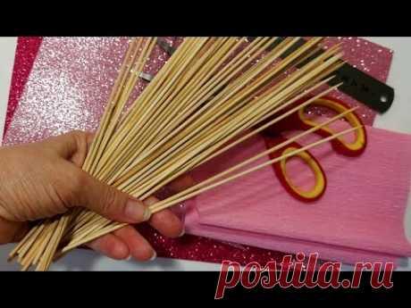 3 ИДЕИ подарков НА УЧИТЕЛЯ ДЕНЬ своими руками diy Поделки. Цветы из бумаги/diy идеи на 8 марта DiY