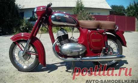 Отреставрированный мотоцикл Ява-354 1958 года | Авто самоделки