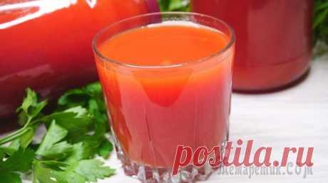 Томатный сок на зиму. Томатный сок на зиму. Если У Вас еще лежит гора помидор на кухне и вы не знаете, что с ними делать? Я предлагаю приготовить очень вкусный, витаминный томатный сок. Рецепт очень простой, сок получается...
